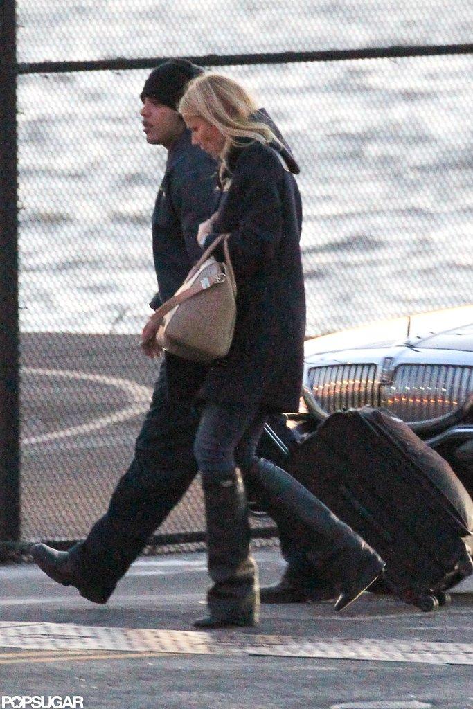 Gwyneth and Cameron Reunite in NYC!