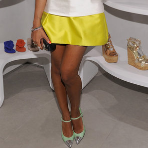 Celebrities Wearing Cap-Toe Shoes Spring 2012