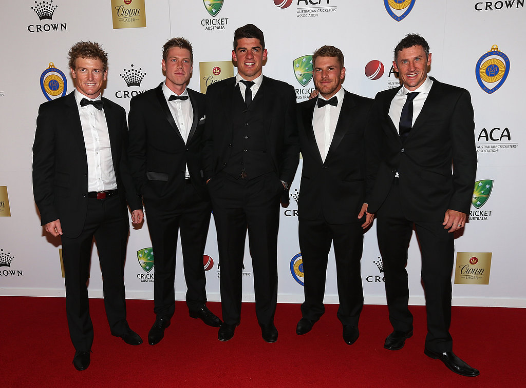 George Bailey, James Faulkner, Moises Henriques, Aaron Finch and David Hussey