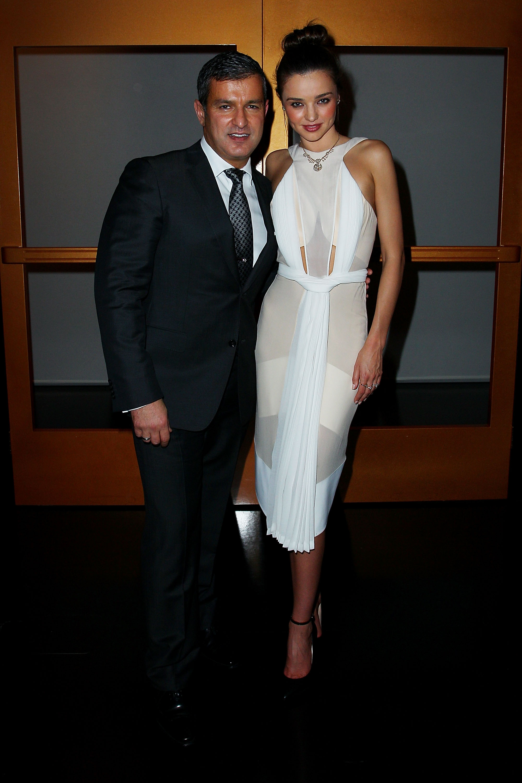 Paul Zahra and Miranda Kerr