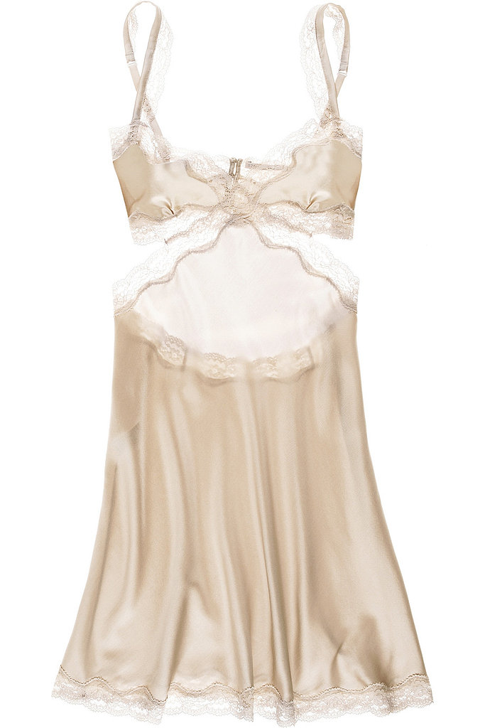 Doesn't Stella McCartney's Clara whispering chemise ($300) instantly evoke the sultriest kind of French noir film fashion? It's slinky, sleek, and luxe — a triple Valentine's Day threat.