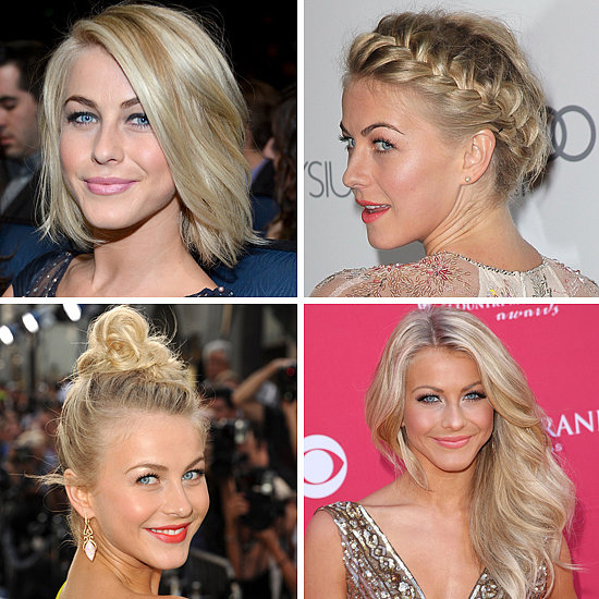 Beauty Spotlight: Julianne Hough's Textured Tresses