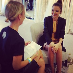 Interview With Miranda Kerr: Her Style and Beauty Picks