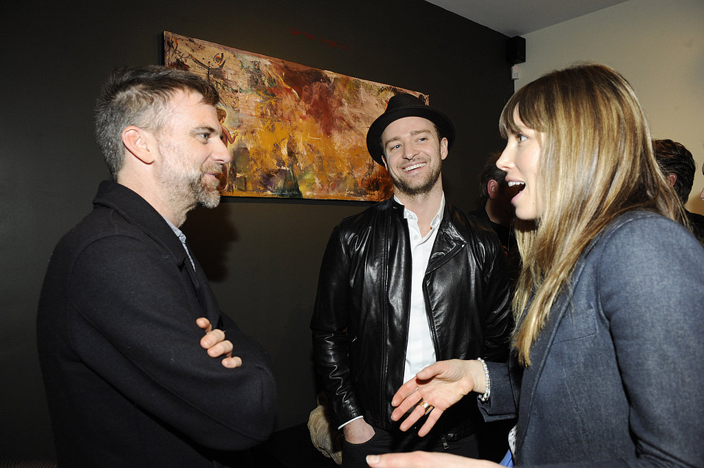 Photo of Paul Thomas Anderson & his friend musician  Justin Timberlake - Los Angeles