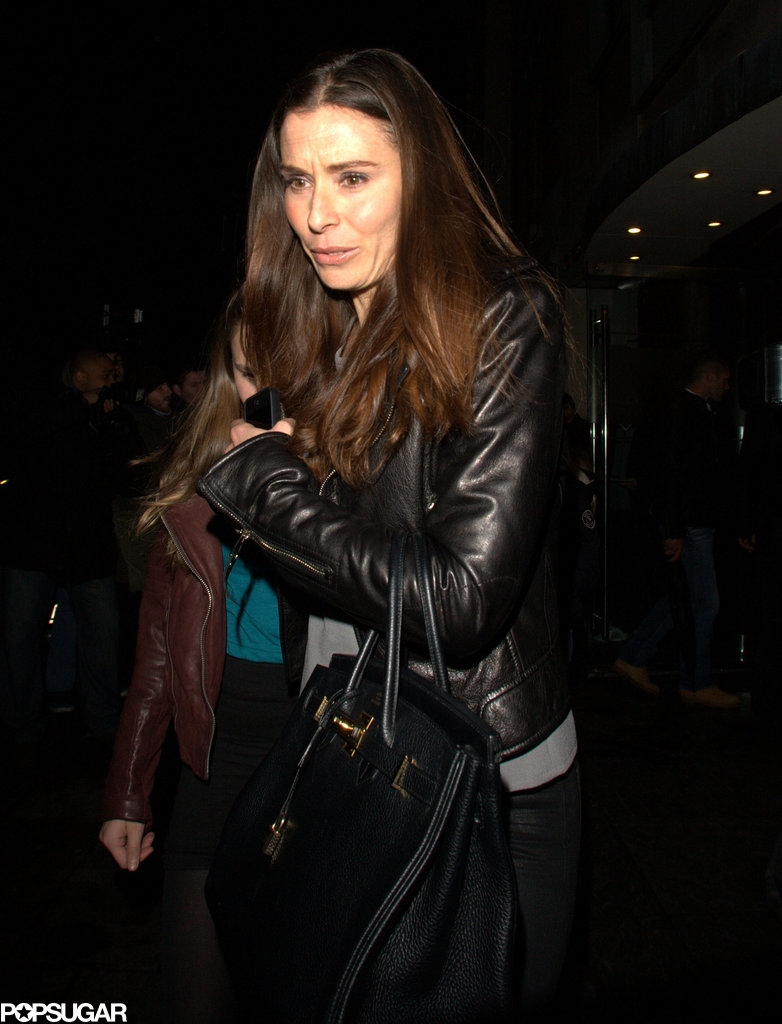 Tana Ramsay joined David Beckham and his boys for dinner Friday night.
