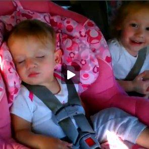 Baby Dancing in Car Video