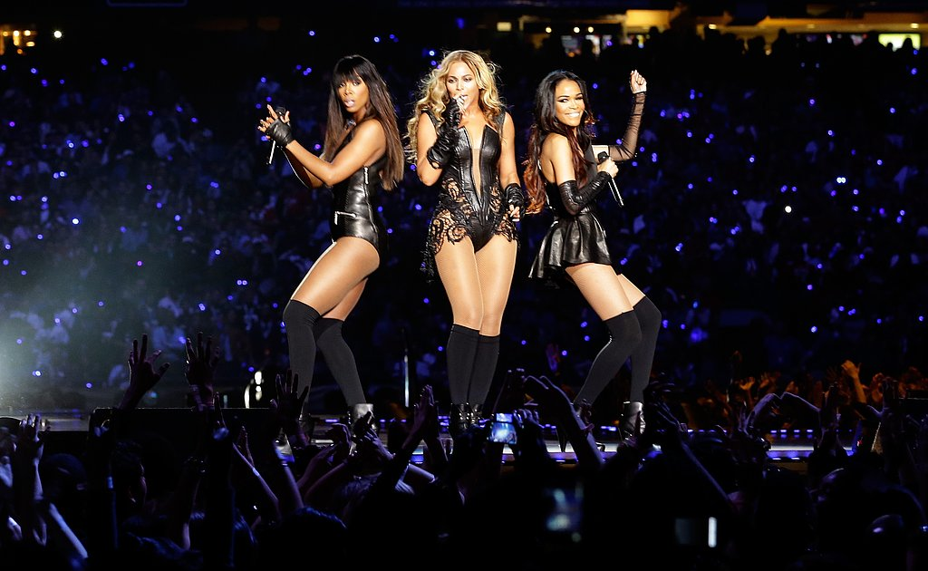 Destiny's Child reunites! We were loving Beyoncé, Kelly and Michelle's performances at the Super Bowl on February 3.
