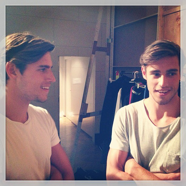 The Stenmark twins, lookin' mighty fine. They're really, really lovely, which makes them even more appealing.