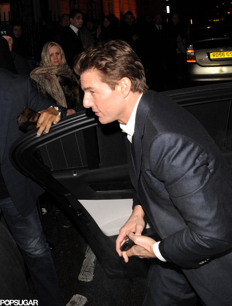 Jennifer Garner Parties With Ben Affleck, Tom Cruise, and Bradley Cooper Pre-BAFTAs