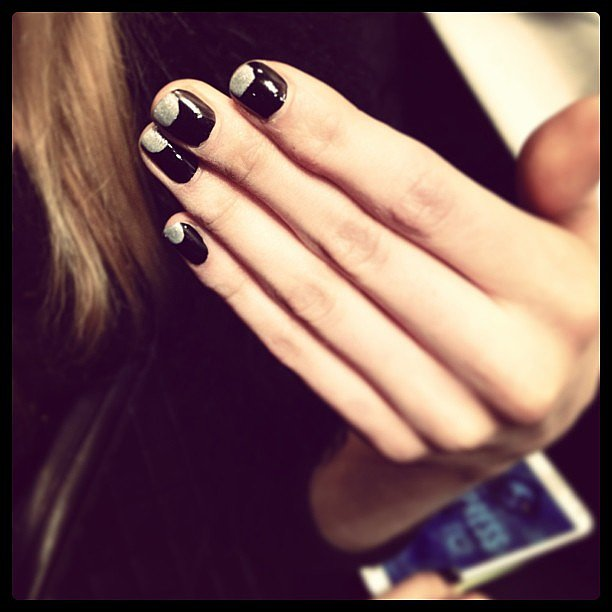 And we're over the moon for this Maybelline manicure for Mara Hoffman.