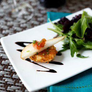 Fried Goat Cheese Appetizer