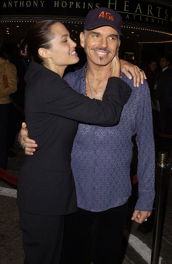 Angelina Jolie and Billy Bob Thornton met in 1999 while filming Pushing Tin and were married in 2000. They divorced in 2002, with Angelina taking custody of their newly adopted son, Maddox.<br /><br />