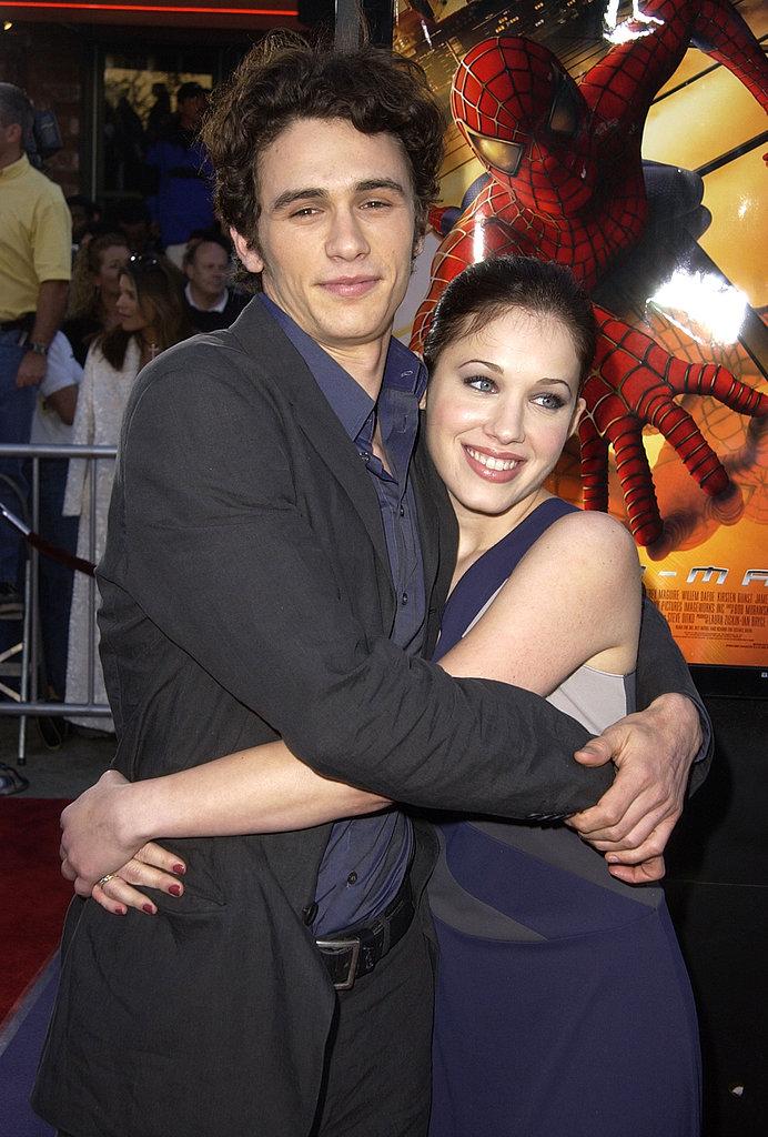 Marla Sokoloff and James Franco