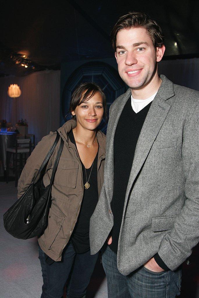John Krasinski and Rashida Jones