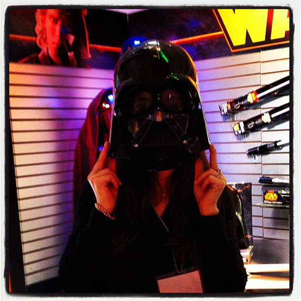 The new Darth Vader voice-changing mask will make everyone sound like James Earl Jones!