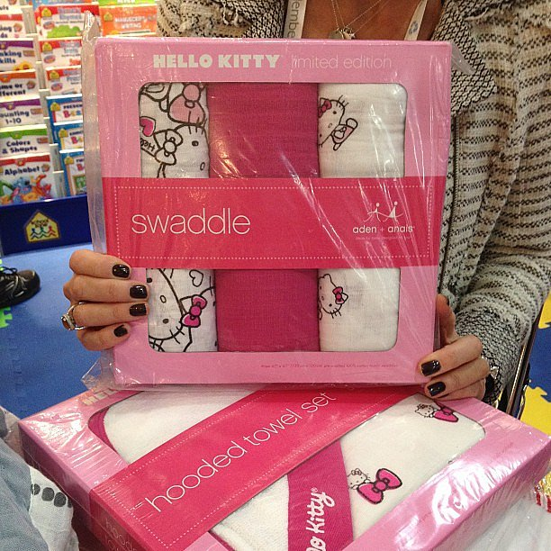 Aden + Anais announced a new partnership with the ever-popular Hello Kitty that will debut this Spring.