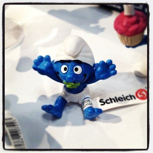 Schleich continues its Smurf line with an adorable baby Smurf!