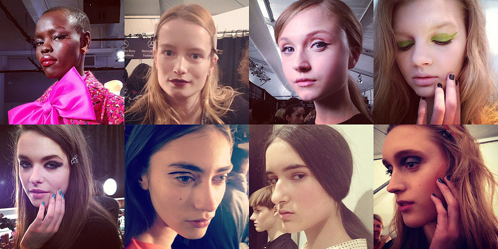 Go Behind the Scenes at New York Fashion Week With Our Instagram Snaps