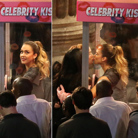 Jessica Alba Kisses Fans and Reveals Shocking Health Scare