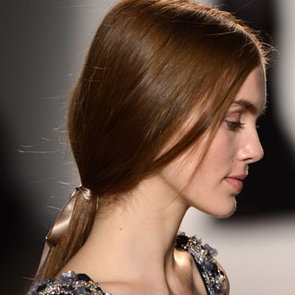 Pictures of Jenny Packham Beauty at 2013 Fall NYFW