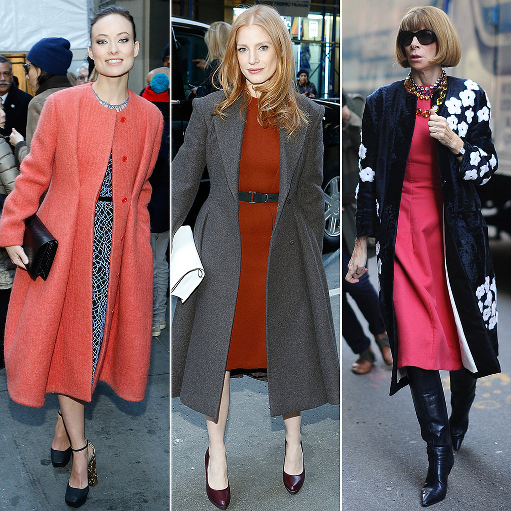 Olivia, Jessica, Anna, and More Stylish Stars Close Out NYFW