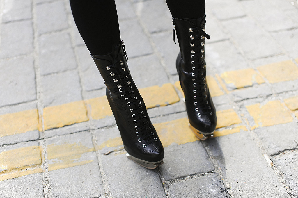 These lace-up ankle boots have an edgy-meets-vintage feel.