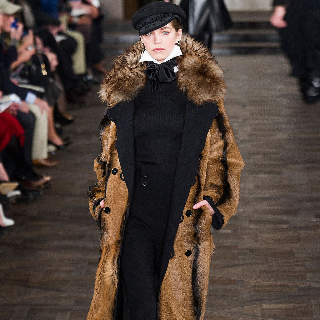 The Ralph Lauren Fall 2013 show was all about opulence and luxury.