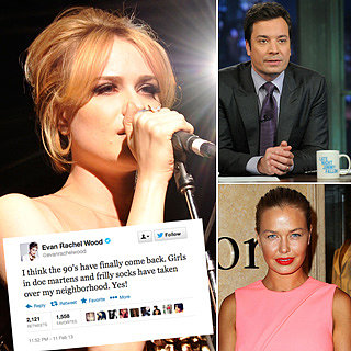 Best Funny Celebrity Tweets: Evan Rachel Wood, Jimmy Fallon