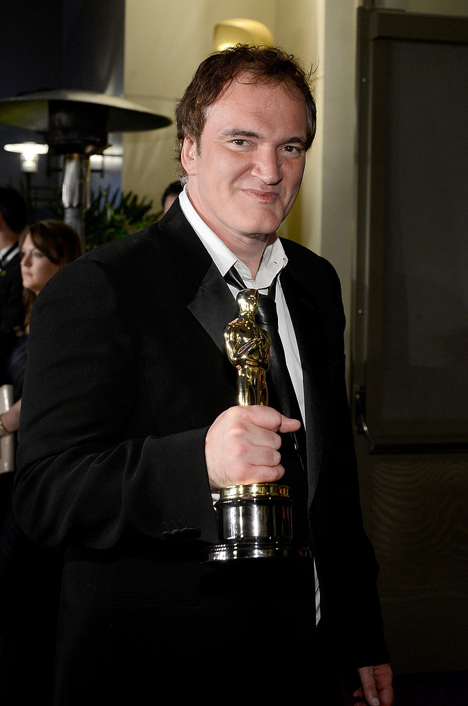 Quentin Tarantino attended the Governors Ball.