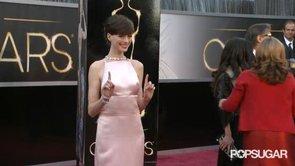 Anne Hathaway Oscars GIF