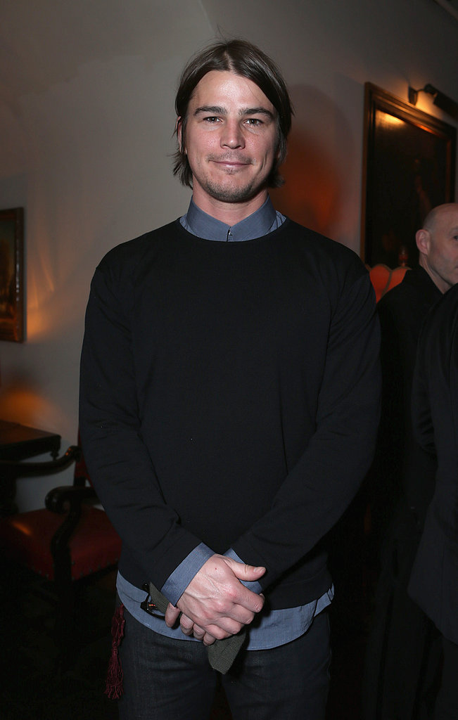 Josh Hartnett dropped by the event.
