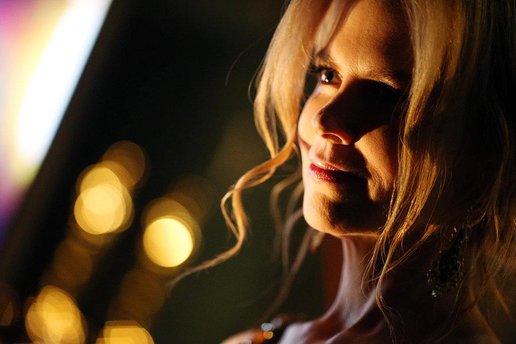 Nicole Kidman backstage at the 2013 Oscars.