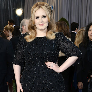 2013 Oscar Awards Style & Fashion Poll: Adele Black Dress