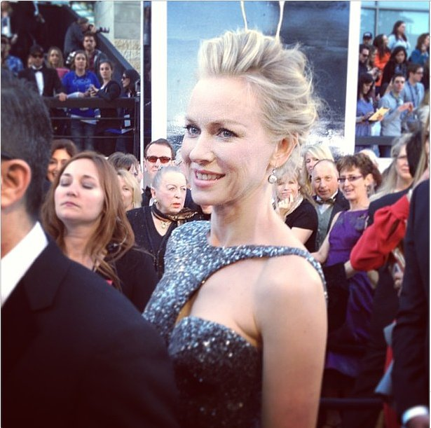 Naomi Watts sparkled in Armani Prive. Source: Instagram user theacademy