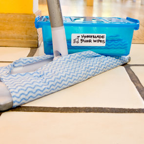 Homemade Reusable Floor Wipes