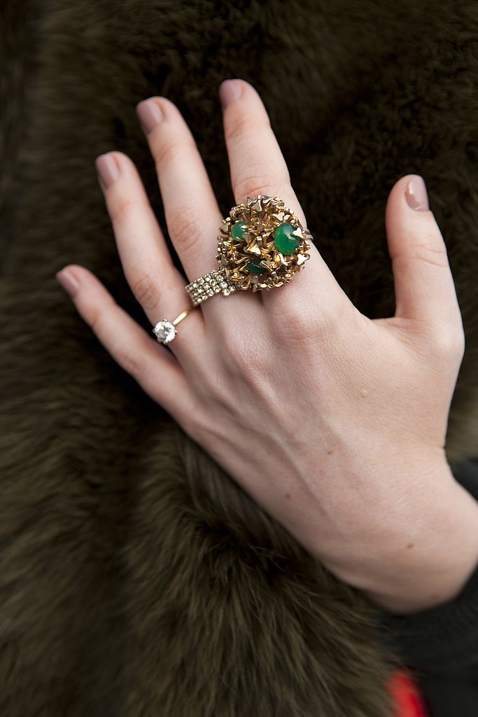 Small, medium, large — the perfect ring combination.