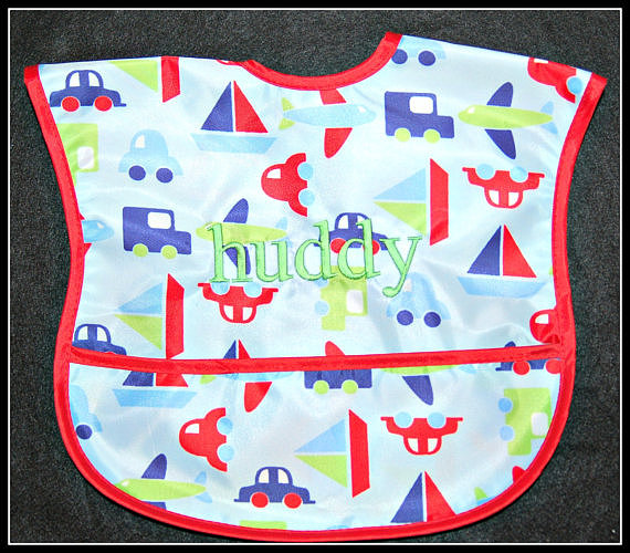 Lilly T. Grace Personalized Bib
