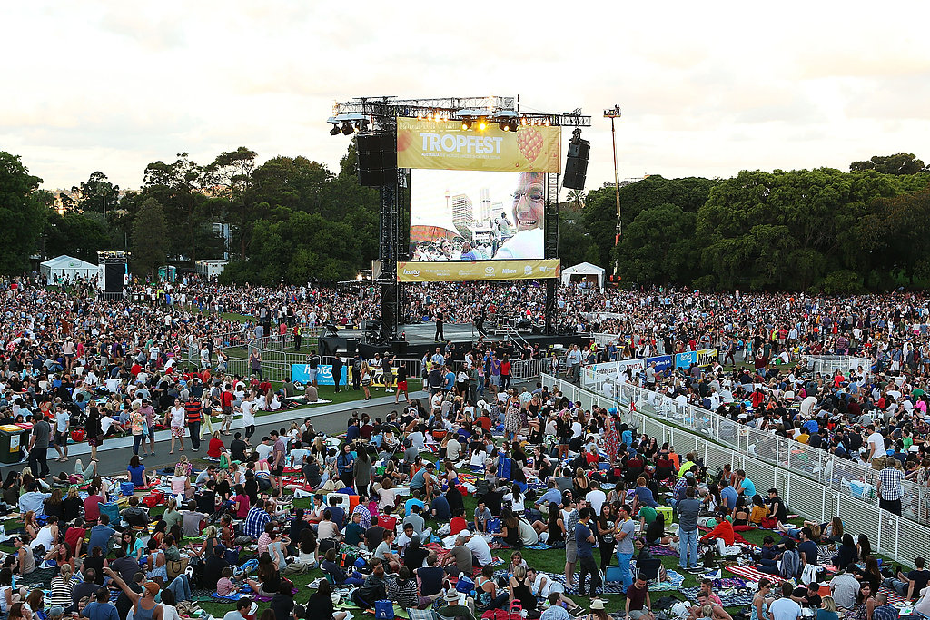 Aussie Screen Stars Flock to The Domain For Tropfest Film Festival