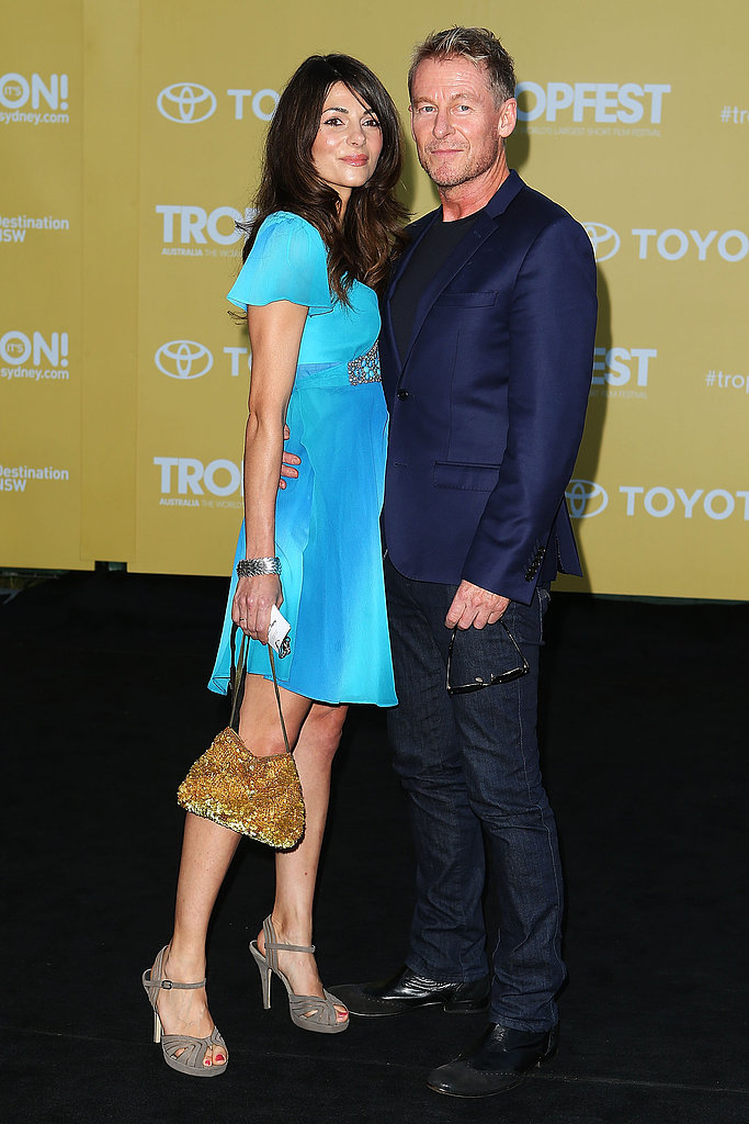 Silvia Colloca and Richard Roxburgh