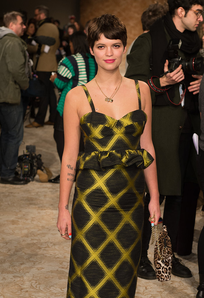 Pixie Geldof at House of Holland