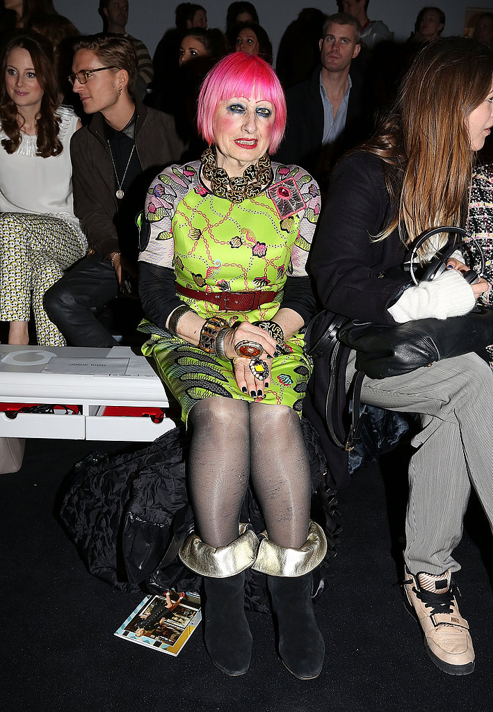 Zandra Rhodes at Issa London