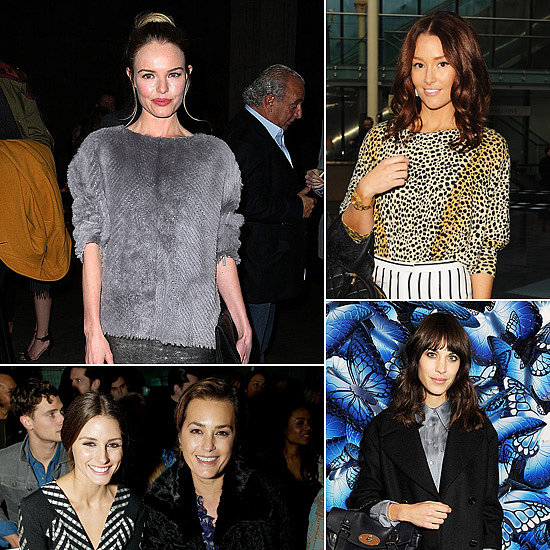 See All the Front Row Stars at London Fashion Week