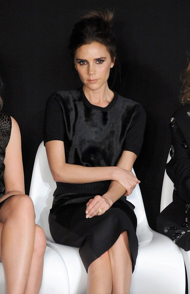 Victoria Beckham at the International Woolmark Prize