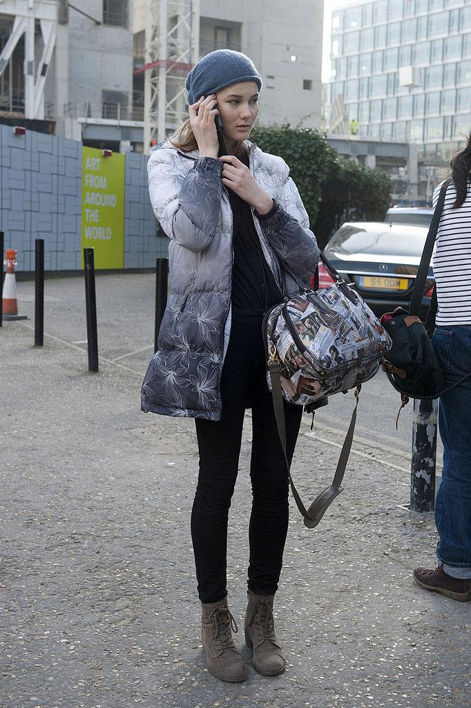 London Fashion Week Street Style Fall 2013