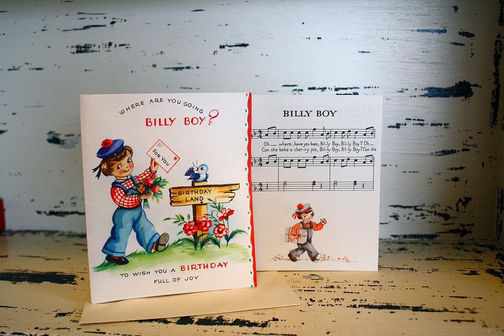 Billy Boy Nursery Rhyme