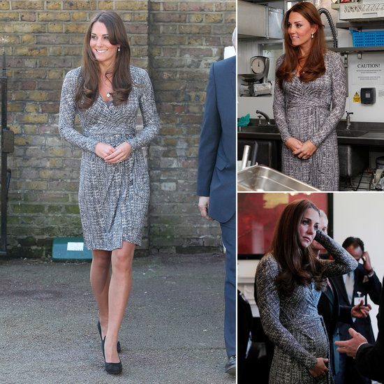 Kate Middleton Shows Her Baby Bump as She Gets Back to Royal Work!