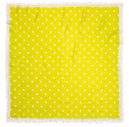 Polka-dot scarf