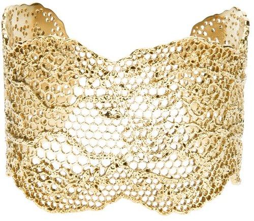 Aurelie Bidermann 'Lace' cuff