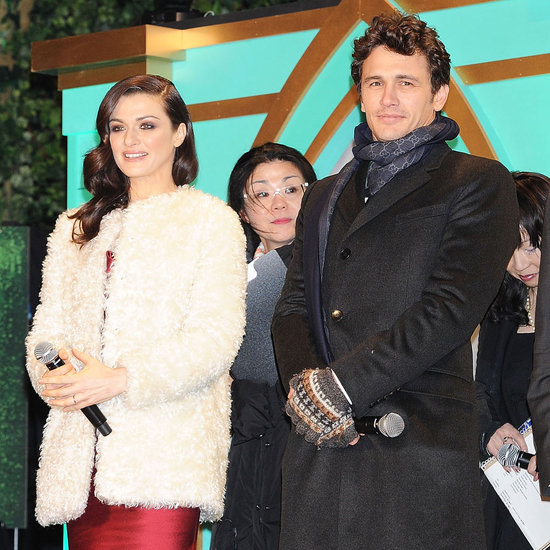 James Franco and Rachel Weisz at Oz Premiere in Japan