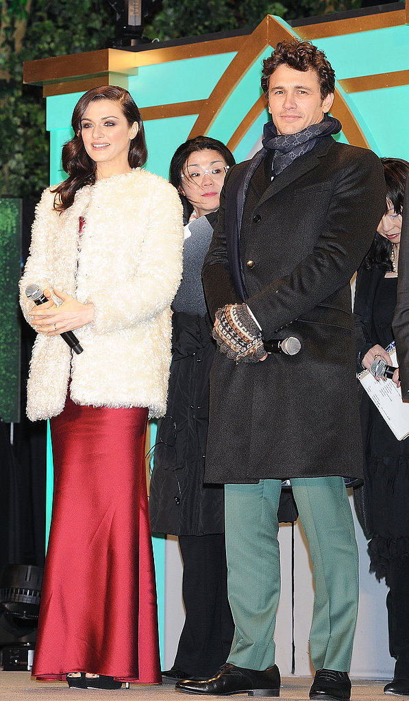 James and Rachel Show Their True Colours at Oz's Tokyo Premiere